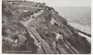 Dorset; Zig Zag Path, Bournemouth PPC By JE Beale, Unposted, c 1910's