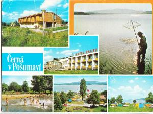 Czech Republic, Cerna v Posumavi, used Postcard