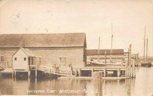 LPS07 Winterport Maine Winterport Ferry Postcard RPPC