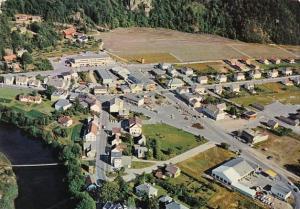 Norway Lyngdal Aerial View