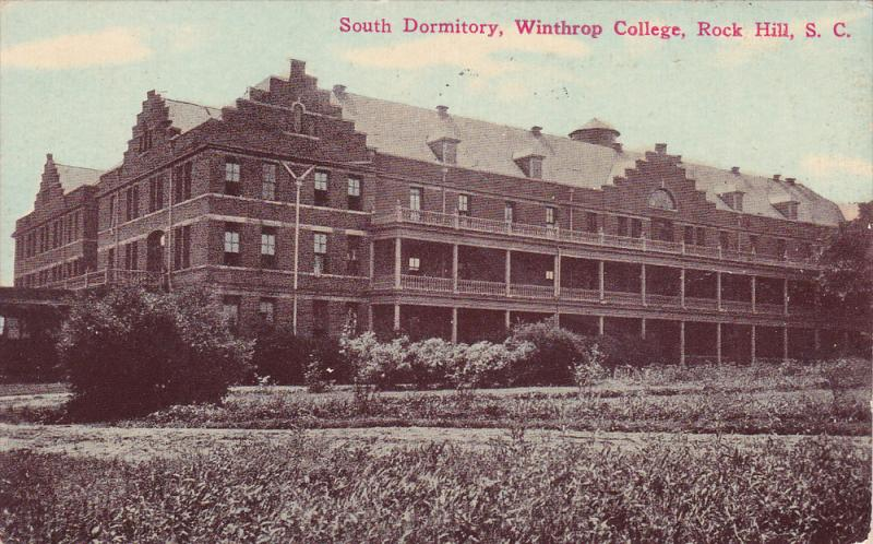 South Dormitory,  Winthrop College,  Rock Hill,  South Carolina,  PU_1909