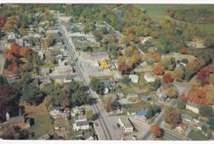 DELHI, Ontario, Canada, PU-1986; Aerial View of Ontario's Tobacco Growing Ind...