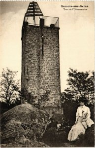CPA SAMOIS-sur-SEINE - Tour de l'Observatoire (292793)