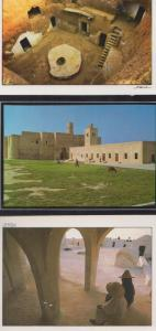 Marhala Matmata Jerba Tunisia 3x Postcard s