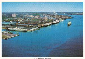Canada The Port Of Halifax Nova Scotia