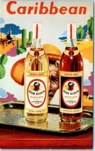 Morrisville, PA Liquor Ad Postcard Bardinet Exports RHUM NEGRITA 84 Proof