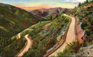 New Mexico Switchbacks On Red River Pass Curteich