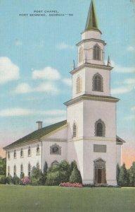 FORT BENNING , Georgia, 1944; Post Chapel