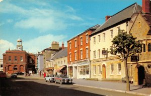 Vintage Postcard, South Street, Bridport, Dorset, Classic Cars 67Z