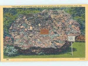 Unused Linen PARK SCENE Hot Springs National Park Arkansas AR H2255