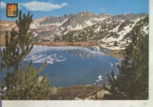 Postal 012430: Lago de Els Pessons en Andorra