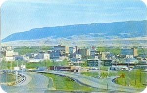 Panorama of Casper Wyoming