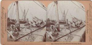 SV: CUBA , 1898 ; Wrecked Battleship MAINE ; #3