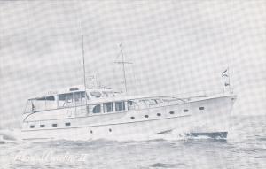 Passenger Ferry Caroline IV at Sea