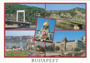 Hungary Budapest Multi Views Along The Danube