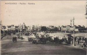 Uruguay Montevideo Pocitos Rambla 1916