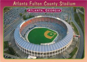Atlanta GA, Georgia - Fulton County Baseball Stadium