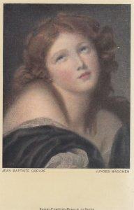 Jean Baptiste Greuze , Junges Madchen , 00-10s