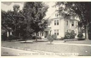 Fayetteville Tourist Home, Fayetteville, NC, 20-40s