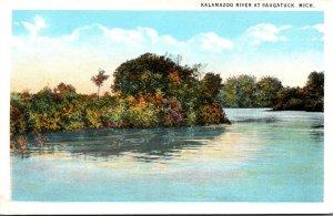 Michigan Kalamazoo River At Saugatuck Curteich