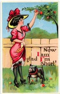 Humor - Now I am glad I'm short!