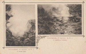 SOUFRIERE , ST. LUCIA , 00-10s ; Cauldron & Steam Hole