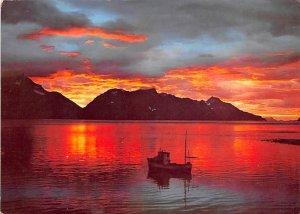 Midnight Mood at Lyngen Norway Unused