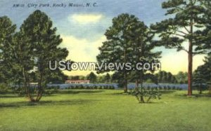City Park in Rocky Mount, North Carolina