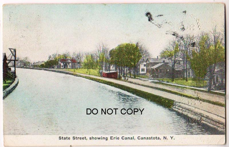 State St., Erie Canal Canastota NY