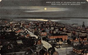 Inlet, from Light House by Moonlight in Atlantic City, New Jersey