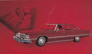 Chevrolet 1974 Caprice Classic Sport Sedan Automobile