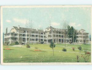 Damaged By Surface Wear Divided-Back NATURAL BRIDGE HOTEL By Lexington VA B3005