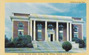 Kentucky Wilmore Morrison Memorial Library Asbury College Dexter Press
