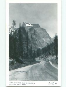 old rppc NICE VIEW Glacier National Park - West Glacier Montana MT i6930