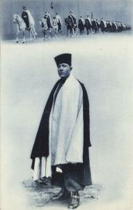 algeria, Armed TUAREG TOUAREG on Horses, Unknown Leader (1910s) (3)