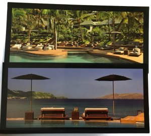 Christopher Hotel St Barth French West Indies Pair of Postcards