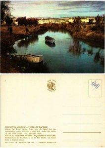 CPM AK The river jordan - place of baptism ISRAEL (733817)