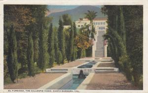 SANTA BARBARA , California , 10-20s; El Fureides, The Gillespie Home
