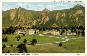 CO - Rocky Mountains National Park. Estes Park, The Stanley Hotels