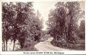 Michigan Scene Near East Tawas