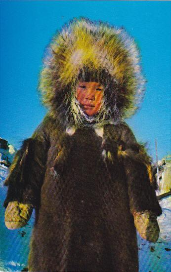 Canada Eskimo Youngster Yellowknife Northwest Territories