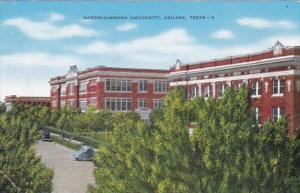 Texas Abilene Hardin-Simmons University
