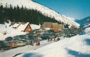 Summit of STEVENS PASS in Winter, Washington , 50-60s