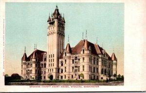 Washington Spokane County Court House