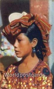 Guatemala, Central America Indian Girl Solola  Indian Girl Solola