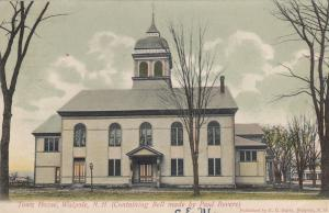 WALPOLE , New Hampshire, 1906 ; Town House