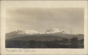 Nevado de Toluca c1905 Real Photo Postcard