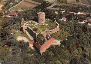 Homberg Bez Kassel Turm Tower Aerial view