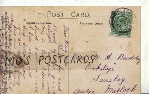 Genealogy Postcard - Beardsley - Tansley - Matlock - Derbyshire - Ref 9189A