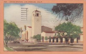 California Los Angeles Union Station 1956